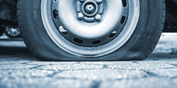 Hattiesburg Mississippi flat tire changing